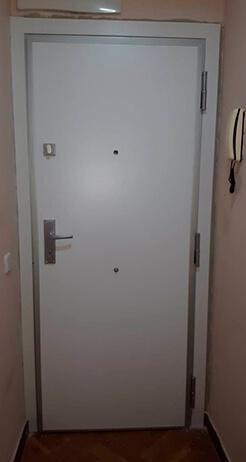 Hoja de la puerta blindada