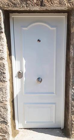 Cerradura de las puertas blindadas