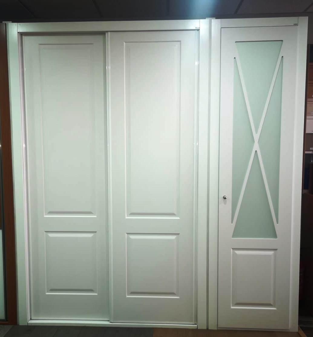 puertas abatibles para armarios empotrados